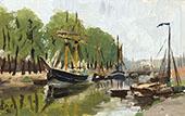 Willebroek The Canal Lock 1891 By Henri Evenepoel