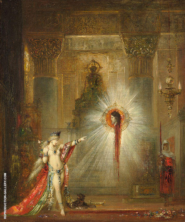 The Apparition by Gustave Moreau | Oil Painting Reproduction Replica On Canvas - Reproduction Gallery