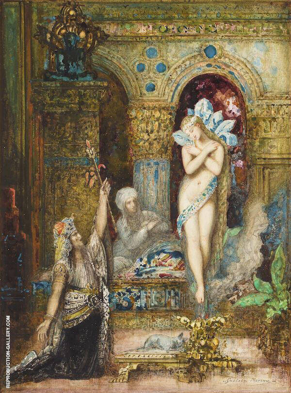 The Fables by Gustave Moreau | Oil Painting Reproduction Replica On Canvas - Reproduction Gallery
