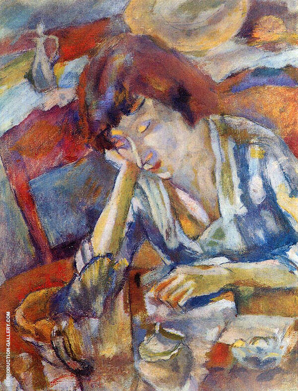 Hermine 1919 By Jules Pascin