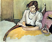 Portrait of Hermine David 1908 By Jules Pascin