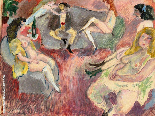 The Prodigal Son Painting By Jules Pascin - Reproduction Gallery