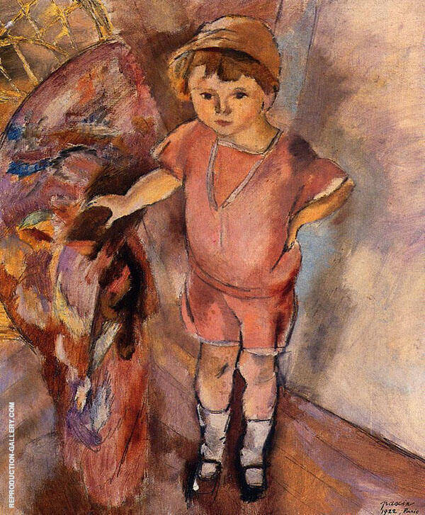 Young Boy 1922 Painting By Jules Pascin - Reproduction Gallery