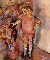 Young Boy 1922 By Jules Pascin