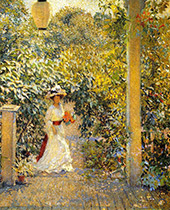 A Summer Visitor By Philip Leslie Hale