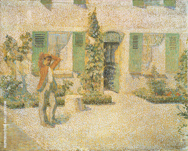 French Farmhouse By Philip Leslie Hale