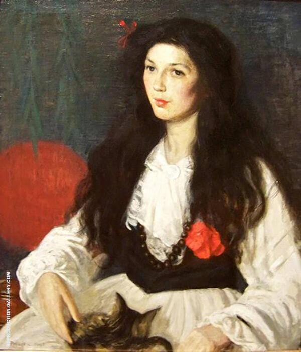 Portrait Painting By Philip Leslie Hale - Reproduction Gallery