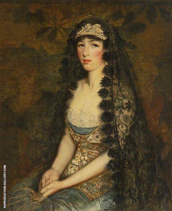 Portrait of A Lady By Philip Leslie Hale