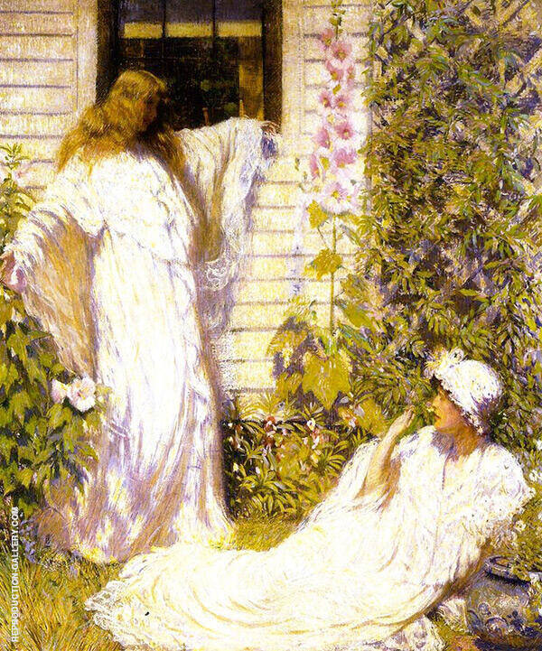 Sun Bath Painting By Philip Leslie Hale - Reproduction Gallery