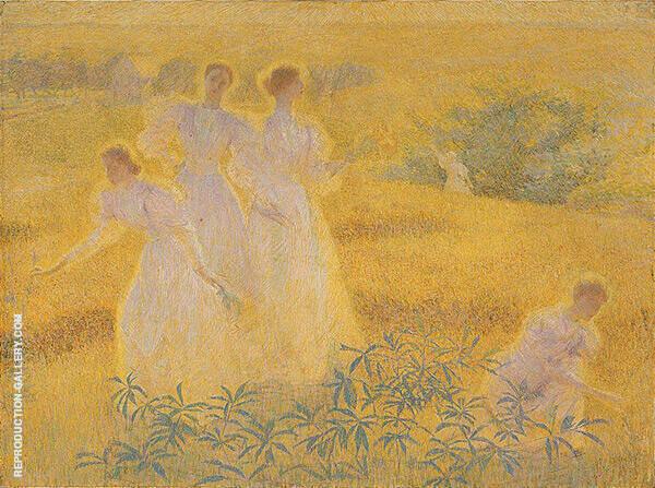 Girls in Sunlights By Philip Leslie Hale
