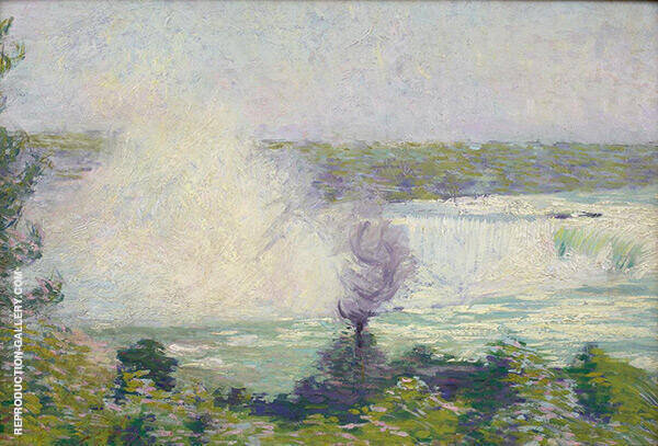 Niagara Falls Painting By Philip Leslie Hale - Reproduction Gallery