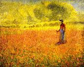 Poppies By Philip Leslie Hale