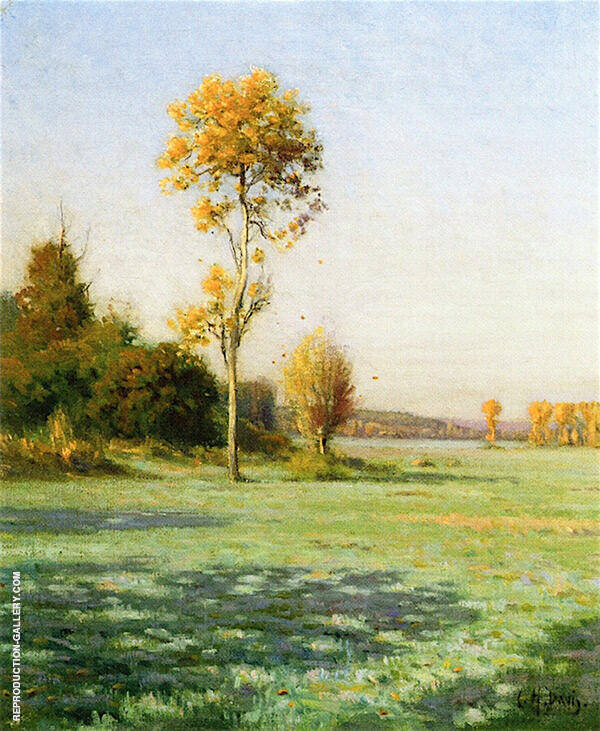A Frosty Morning in Octoberg By Charles Harold Davis