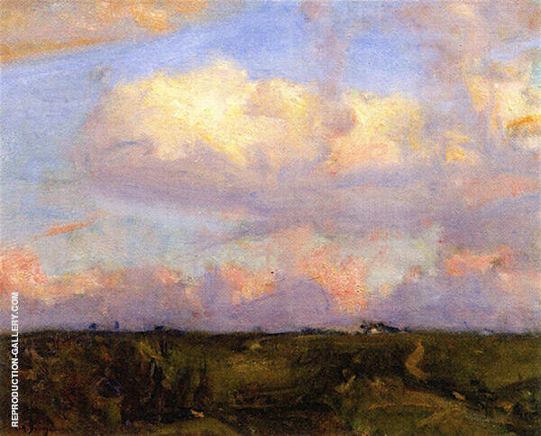 Afternoon Clouds By Charles Harold Davis