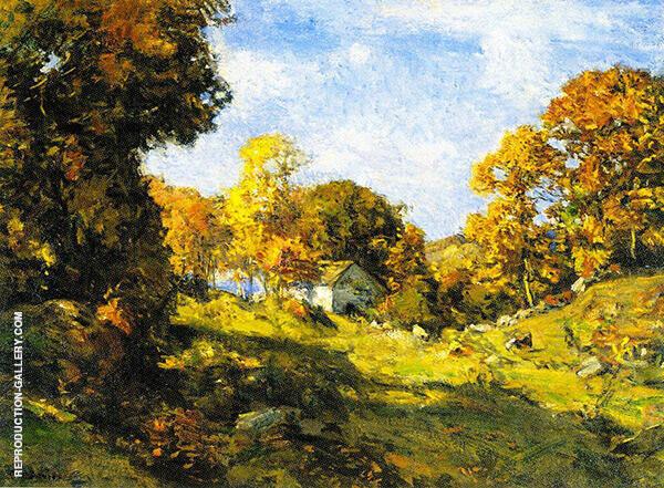 Autumn on The Farm By Charles Harold Davis