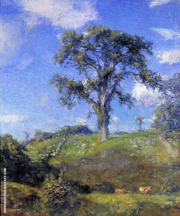 Blithe June By Charles Harold Davis
