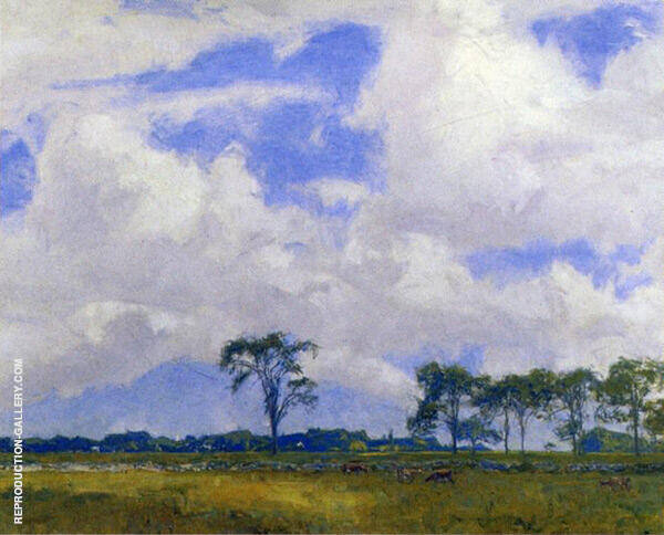 Cloude After a Storm By Charles Harold Davis