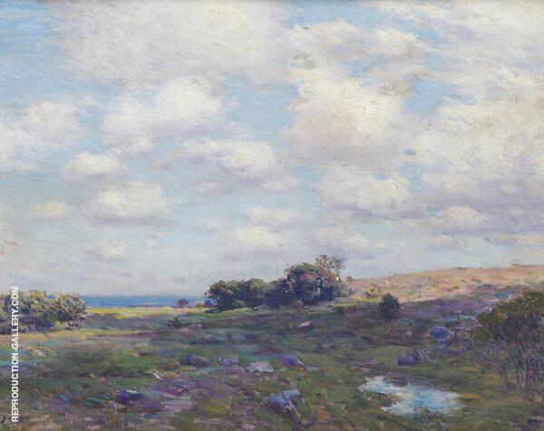 Coastal Landscape By Charles Harold Davis