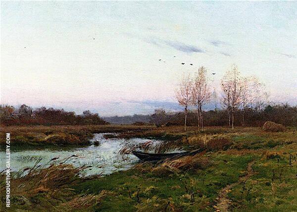 December Twilight By Charles Harold Davis