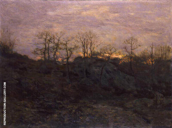 Edge of The Forest Twilight c1890 By Charles Harold Davis