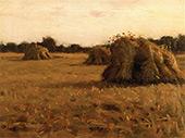 Haystacks France By Charles Harold Davis