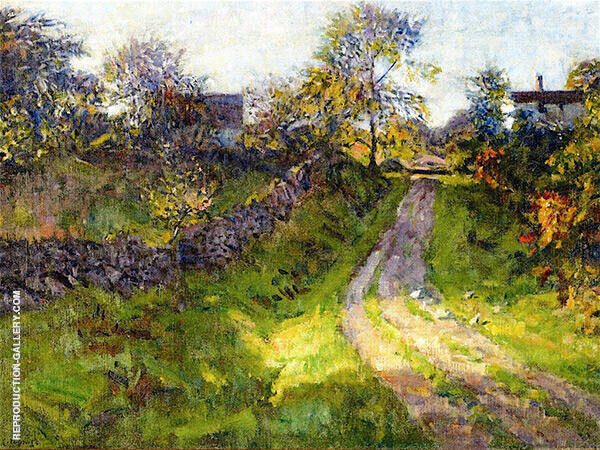 Hillside Road Mystic By Charles Harold Davis