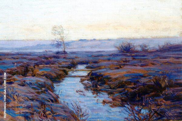 Inlet at Skaneateles Painting By Charles Harold Davis