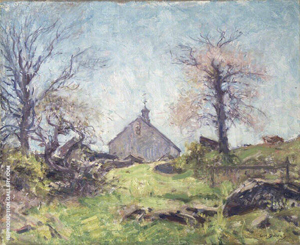 In Spring Sunshine c1920 Painting By Charles Harold Davis