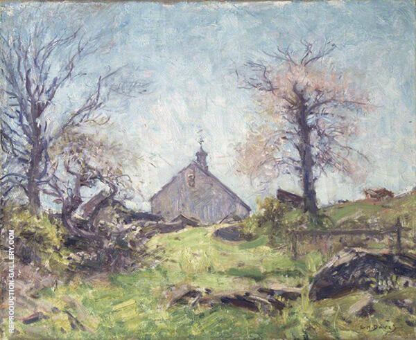 In Spring Sunshine c1920 By Charles Harold Davis