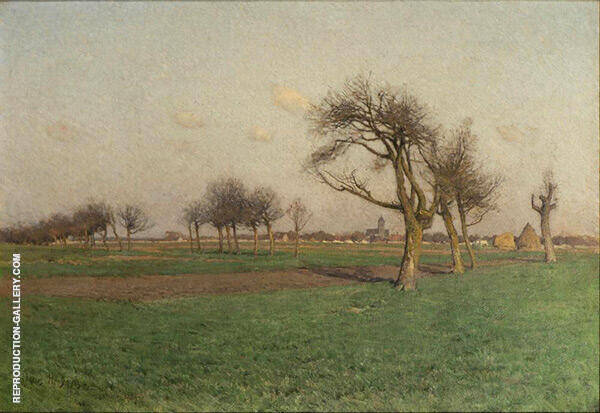Landscape 1884 Painting By Charles Harold Davis - Reproduction Gallery