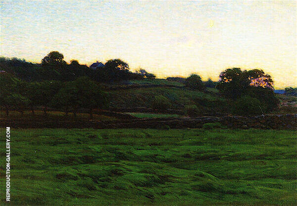 Midsummer Twilight Painting By Charles Harold Davis - Reproduction Gallery