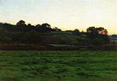 Midsummer Twilight By Charles Harold Davis