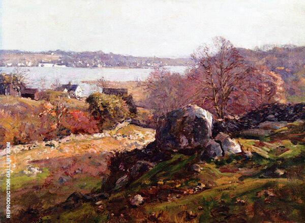 November Morning Sunlight Painting By Charles Harold Davis