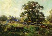 Oak Tree in Mystic By Charles Harold Davis