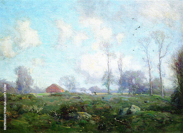 Passing Clouds Painting By Charles Harold Davis - Reproduction Gallery
