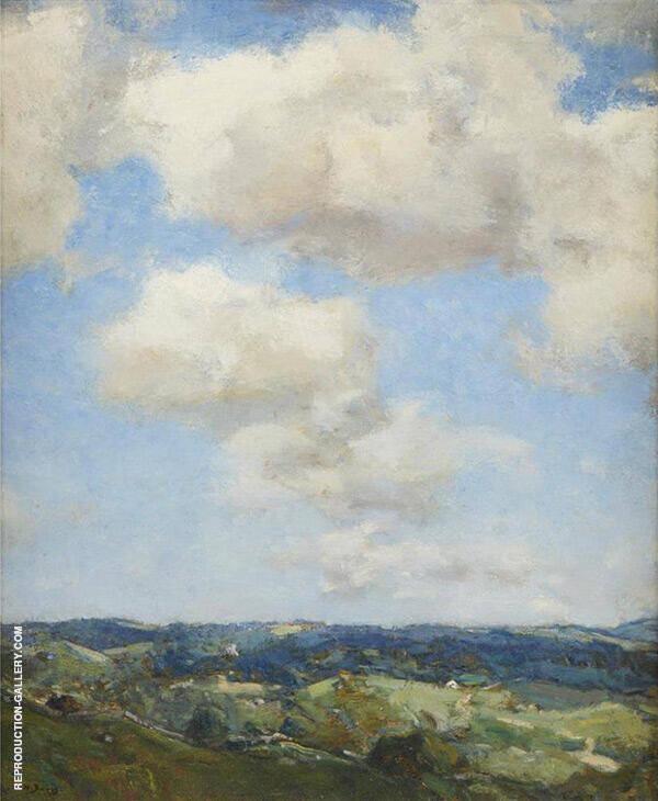 Summer Morning Painting By Charles Harold Davis - Reproduction Gallery