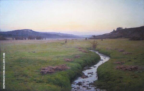 The Brook 1890 By Charles Harold Davis