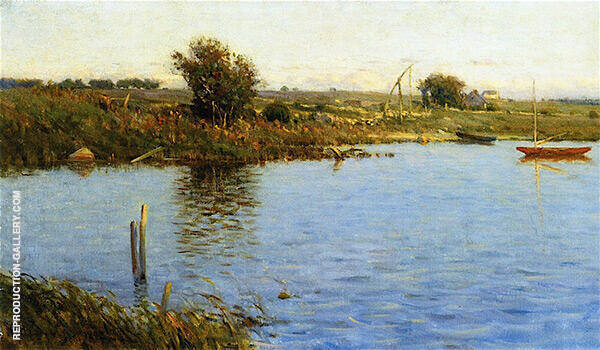 The Golden Hour Painting By Charles Harold Davis - Reproduction Gallery