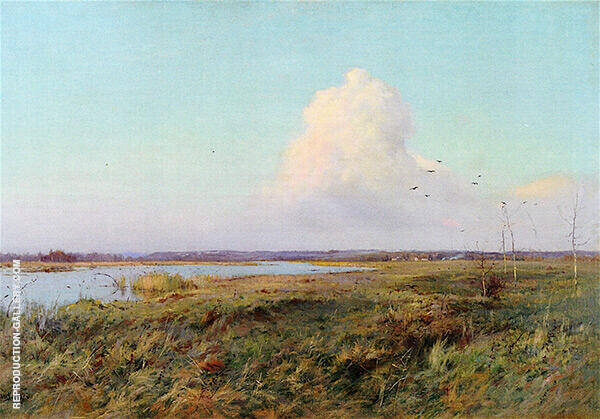 The Last Rays Painting By Charles Harold Davis - Reproduction Gallery
