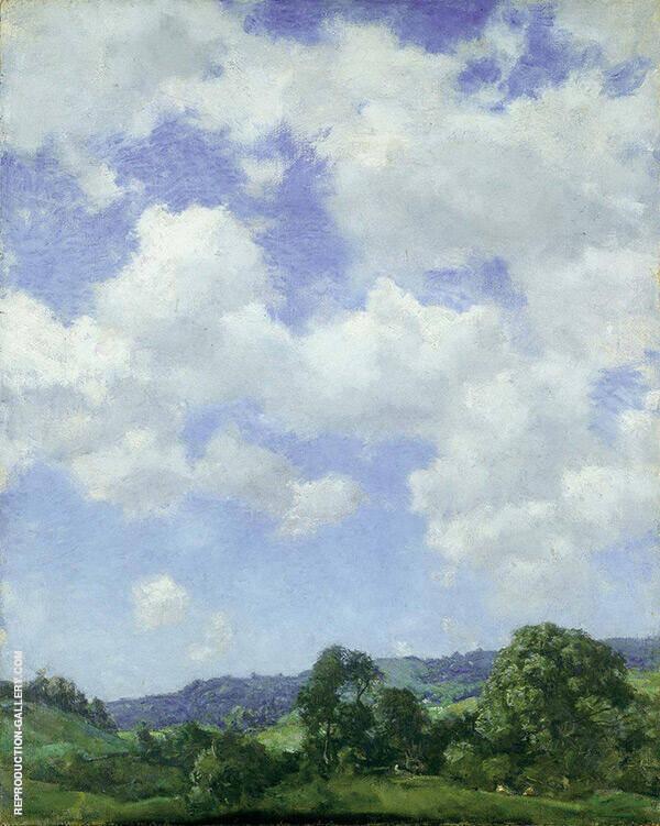 The Northwest Wind 1914 By Charles Harold Davis