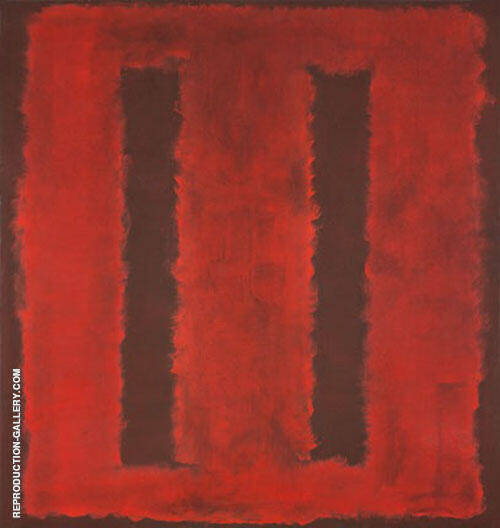 Untitled 1958 by Mark Rothko (Inspired By)   Oil Painting Reproduction Replica On Canvas - Reproduction Gallery