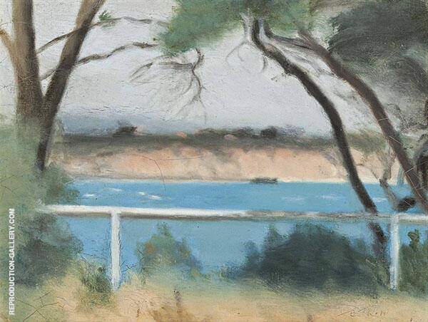 Summer Morning, Beaumaris Painting By Clarice Beckett
