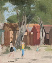Summer Day Beaumaris c1933 By Clarice Beckett