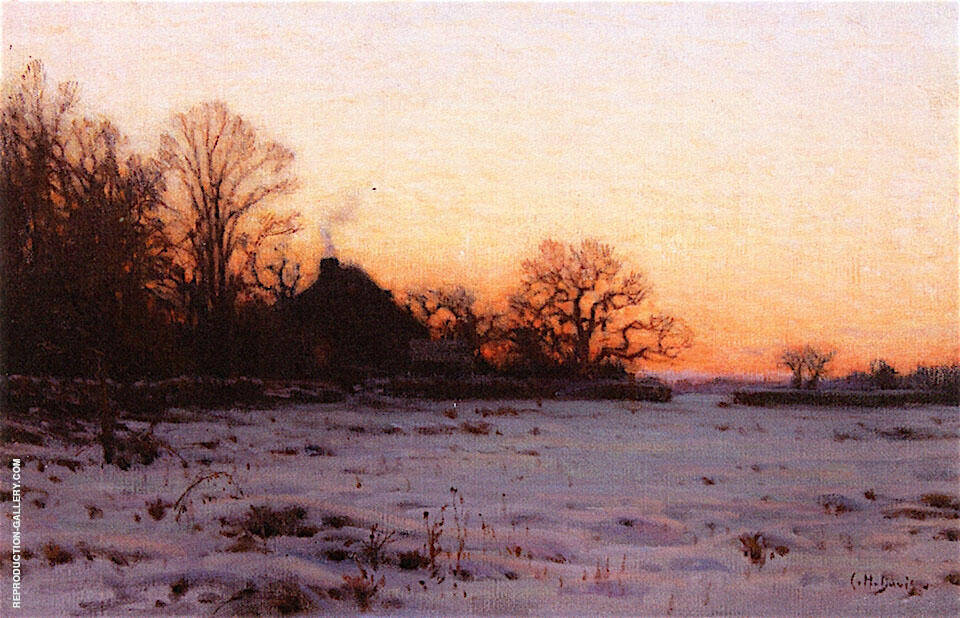 Twilight Mid Winter By Charles Harold Davis