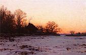 Twilight Mid Winter By Charles Harold Davis