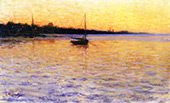 Twilight on The Water By Charles Harold Davis