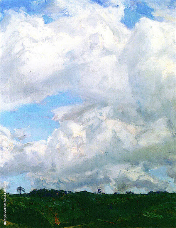 Wind Driven Painting By Charles Harold Davis - Reproduction Gallery