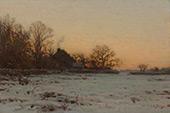 Winter Twilight By Charles Harold Davis