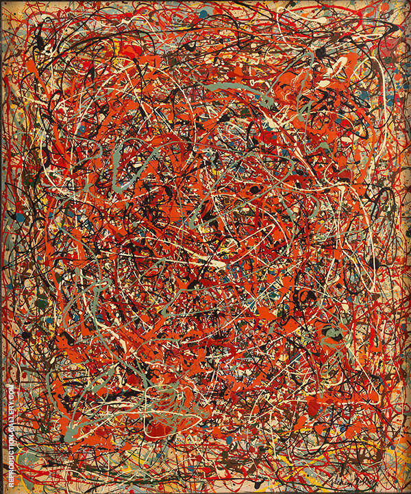 The Fury By Jackson Pollock (Inspired By)