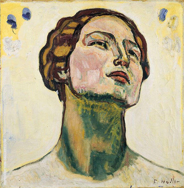Looking into Infinity c 1914 By Ferdinand Hodler